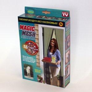Москитная сетка на дверь Magic Mesh (Меджик Меш)