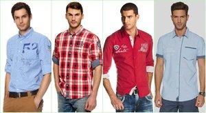 """Мода на мужские рубашки 2017. Мужские сорочки в магазине """"Онегин"""""""