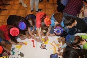 Школьный праздник «Посвящение в юные художники»