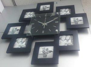Настенные часы с фоторамками в Орске и Новотроицке. Купить часы фоторамку