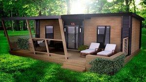 Быстро возводимые модульные здания- для дачных домов.