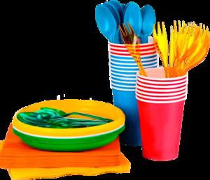 Пластиковая одноразовая посуда оптом