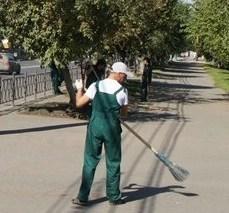 Уборка улиц с помощью спецтехники от профессионалов клининга!