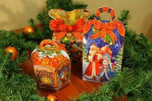Заказ новогодних подарков для детей