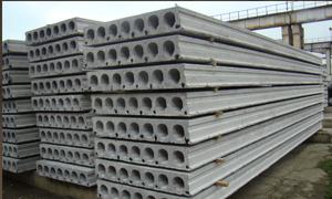 Железобетонная многопустотная плита перекрытия в Оренбурге