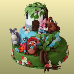 Детские тортики к дню рождения на заказ