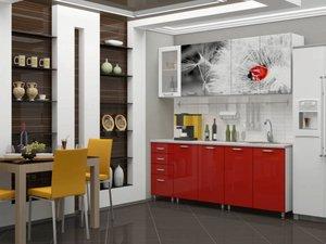 Кухня с фотопечатью - это стильно и необычно!