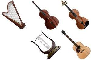 Купить струнный инструмент