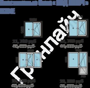 Окна пластиковые Балконы и лоджии алюминиевые