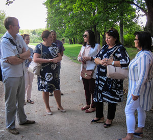 Ясную Поляну посетил министр культуры Калужской области
