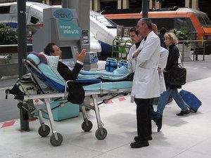 Перевозка больных из города в город