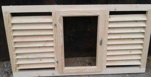 Деревянные окна для дачи - Ваша удача!