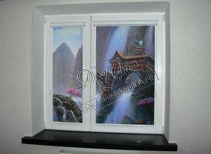 Рулонные шторы на окна с фотопечатью