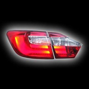 """В наличии в Новокузнецке!!Фонари светодиодные на Toyota Camry 50 стиль """"Lexus Style"""", """"Red/Clear"""""""