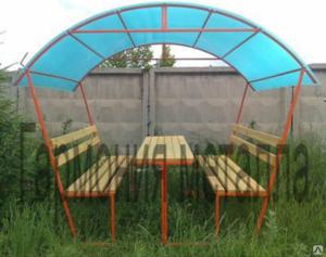 Весь июнь: Садовые беседки всего 10 000 рублей!