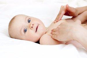 Детский массаж для здорово развития вашего малыша!