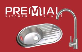 Скоро в продаже новые премиальные мойки Premial