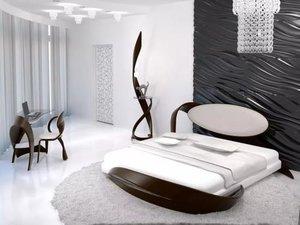 Спальня в стиле модерн - Актуальный дизайн!
