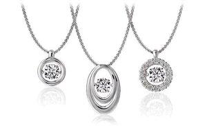 Новая коллекция ювелирных украшений c танцующими фианитами из серебра