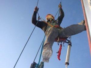 Промышленный альпинизм в Вологде