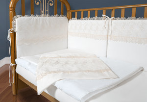 Наборы постельного белья в кроватку новорожденного – большой выбор!