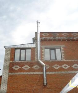 Трубы для дымохода в Туле