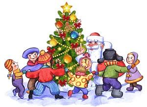 Новогоднее представление «Проделки Бабы-Яги» на отделении ОРЭР