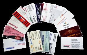 Предоставляем услуги по изготовлению визиток