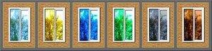 Зеркальная тонировка стекол пленкой в Орске и по области