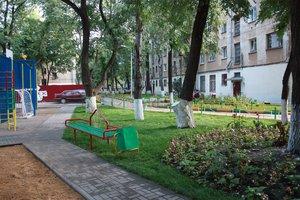 Ремонт дворовых территорий многоквартирных домов