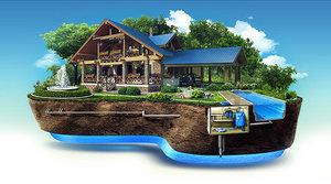 Обустройство систем водоснабжения и водоотведения для частных домов