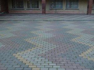 Купить сухопрессованную тротуарную плитку