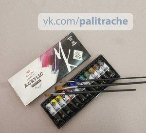 Идеальные акриловые краски уже на полочках в магазине Палитра!