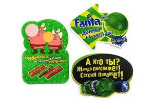 Заказать рекламные наклейки в Оренбурге