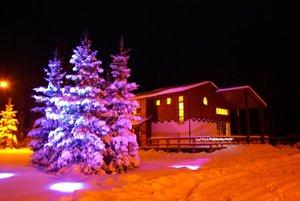 Новый год на базе отдыха в Череповце