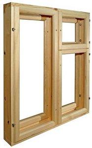 Купить оконный блок деревянный в Туле
