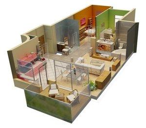 Выезд дизайнера и 3D дизайн интерьера