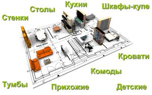 Мебель на заказ в Кемерово