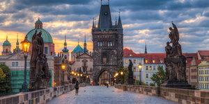 Прага зимой!