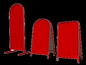 Изготовление штендеров по доступной цене