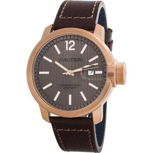 Классические мужские часы Nautica NAPSYD005 с высокой водозащитой и датой
