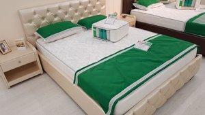 Удобные кровати с матрасов. Приходите!