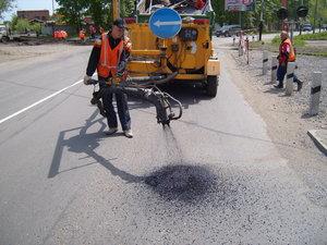 Наша компания делает качественный ямочный ремонт дорог