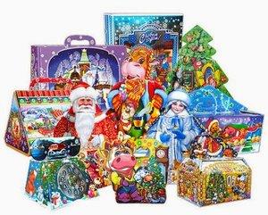 Новогодняя упаковка для подарков. Выгодные цены!