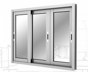 Алюминиевые раздвижные окна в Вологде