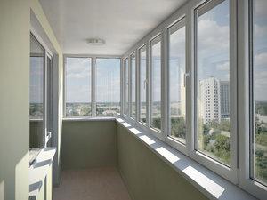 Застеклить балкон по доступной цене