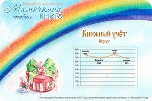 """""""МАМОЧКИНА КНИГА"""" - книжный учёт"""