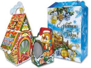 Большой выбор новогодней упаковки