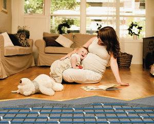 Теплые полы - комфорт в вашем доме!