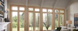 Окна из дуба - благородный материал для вашего дома!